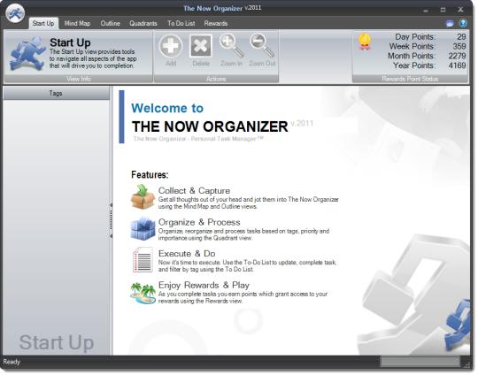 The Now Organizer