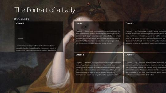 The Portrait of a Lady by Henry James for Windows 8