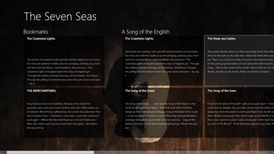 The Seven Seas by Rudyard Kipling for Windows 8
