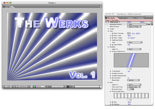 The Werks for After Effects