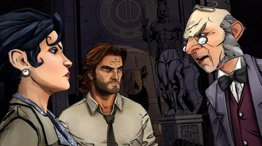 The Wolf Among Us, Episode One: Faith
