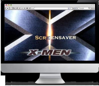 The X-Men Screensaver