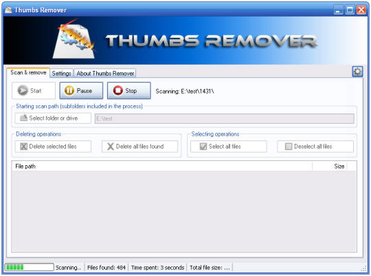 Thumbs Remover Portable