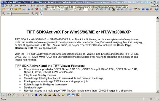 TIFF Viewer Server