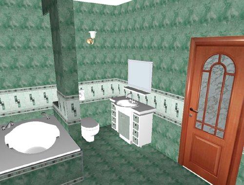 Tile 3d - Bathroom Design