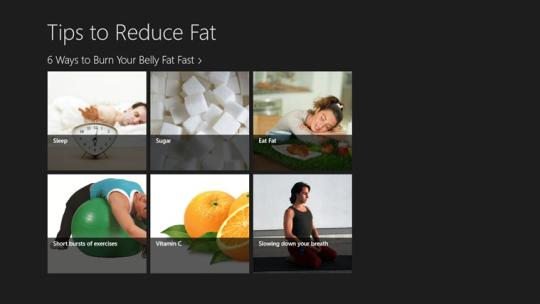 Tips To Reduce Fat for Windows 8
