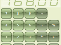 TMS TAdvSmoothCalculator (Delph 2006 and C++Builder 2006)