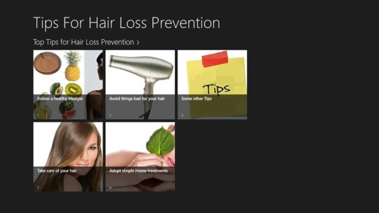 Top Tips For Hair Loss Prevention for Windows 8