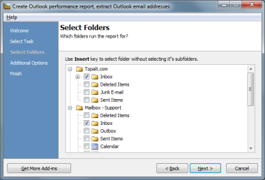Topalt Reports for Outlook