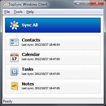 TopSync Windows Client for Outlook