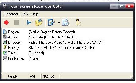 Total Screen Recorder Standard