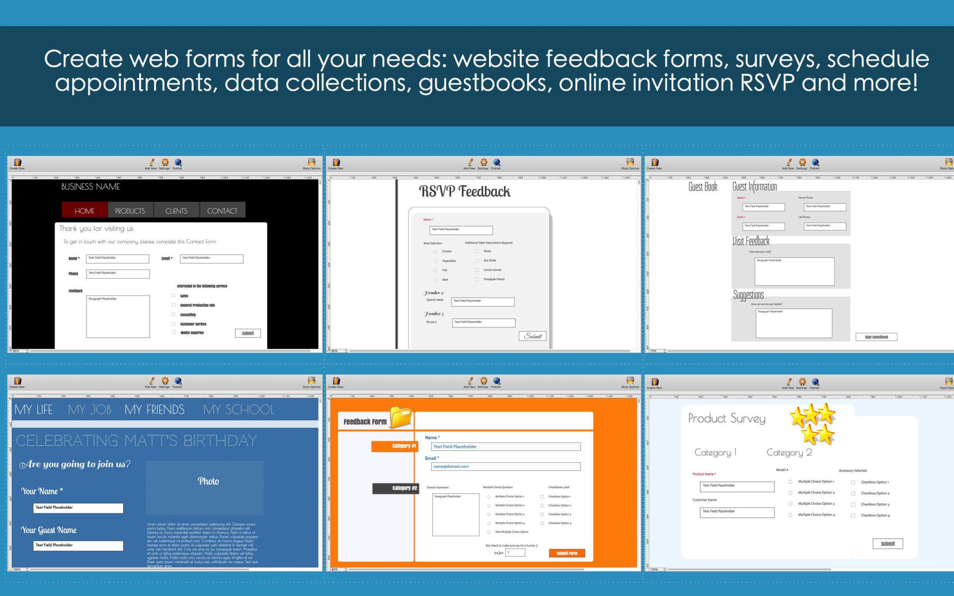 Touch Forms Pro