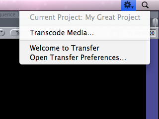 Transfer for Final Cut Pro