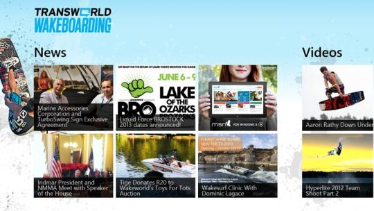 Transworld Wakeboarding for Windows 8