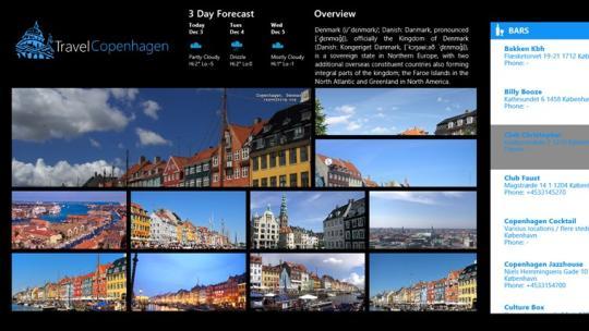 TravelCopenhagen for Windows 8