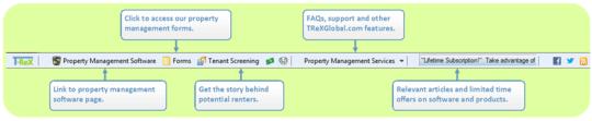 TReXGlobal Toolbar for Internet Explorer
