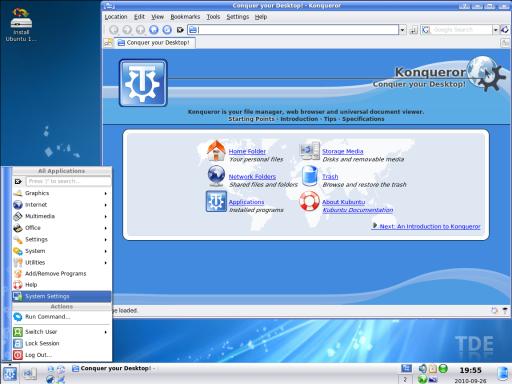 Trinity Desktop Environment