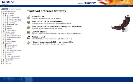 TrustPort Net Gateway 2010