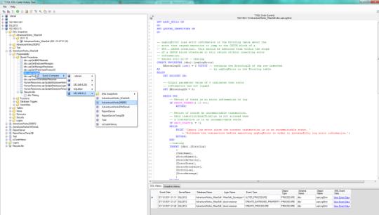 TSQL DDL Code History Tool