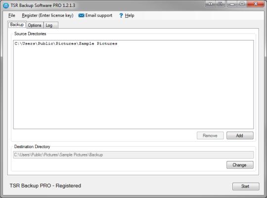 TSR Backup Pro
