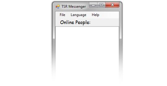 TSR LAN Messenger