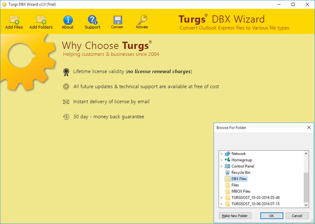 Turgs DBX Wizard