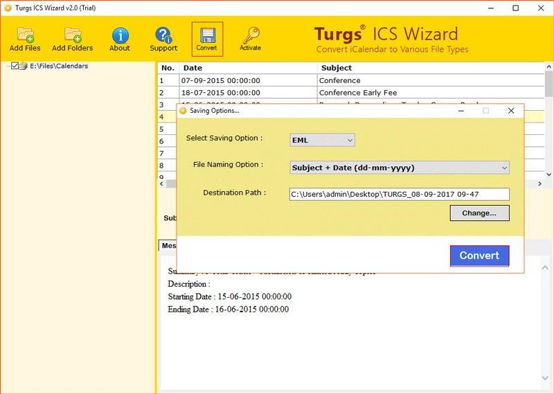 Turgs ICS Wizard
