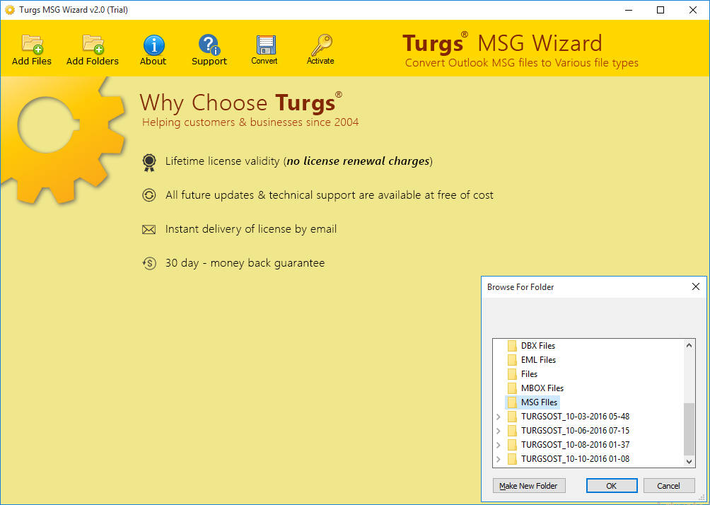Turgs MSG Wizard