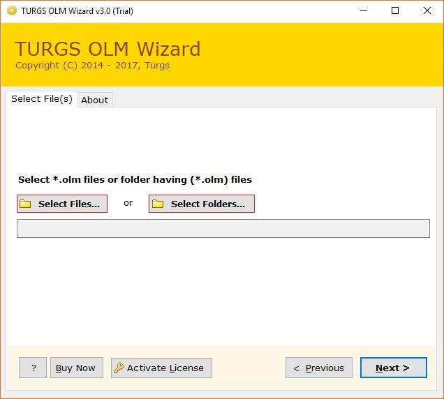 Turgs OLM Wizard