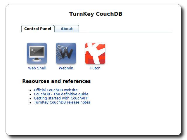 TurnKey CouchDB Live CD