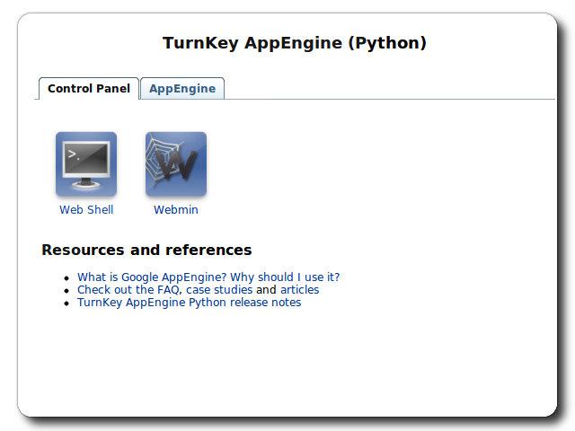 TurnKey Google AppEngine Python Live CD