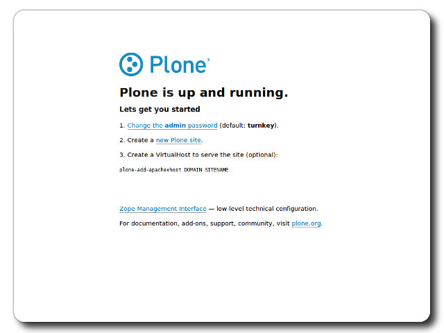 TurnKey Plone Live CD