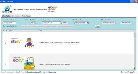 Tweet Eye for eBay Sellers