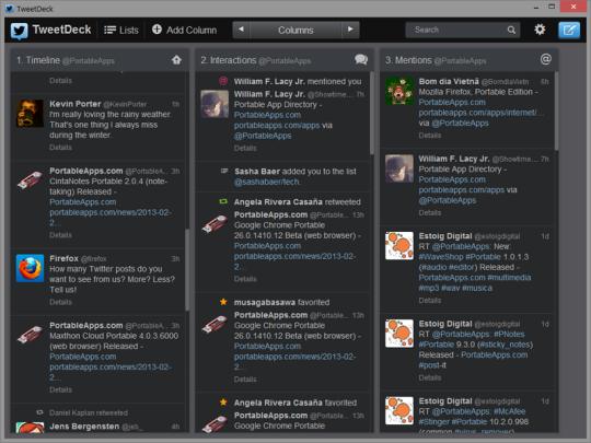 TweetDeck Portable