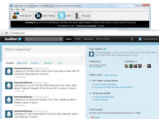 TweetTweet for iTunes