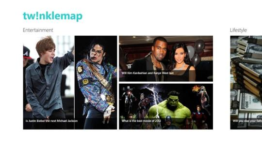 TwinkleMap for Windows 8