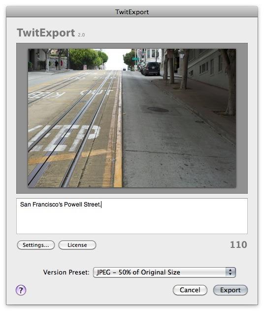 TwitExport