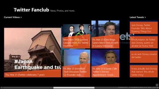 Twitter Fanclub for Windows 8