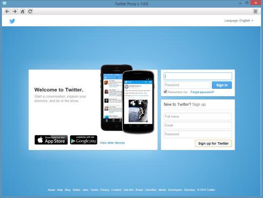 Twitter Proxy