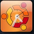 Ubuntu theme for clock screenlet