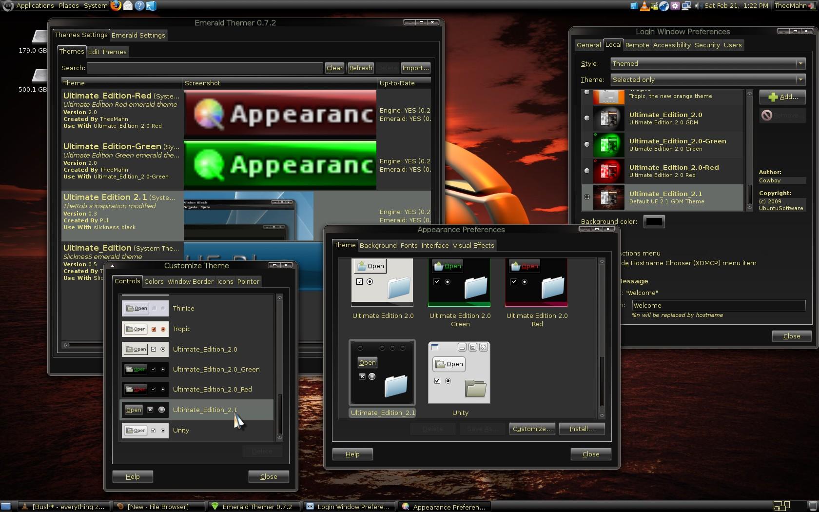 Бесплатно скачать Ultimate Edition для Linux ::: Система