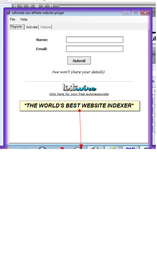 ultimate seo affilate website pinger