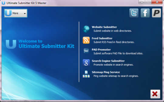 Ultimate Submitter Kit