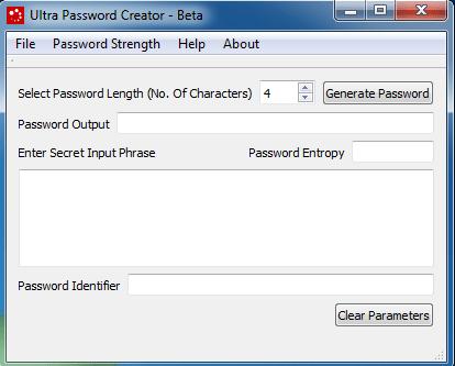 Ultra Password Creator