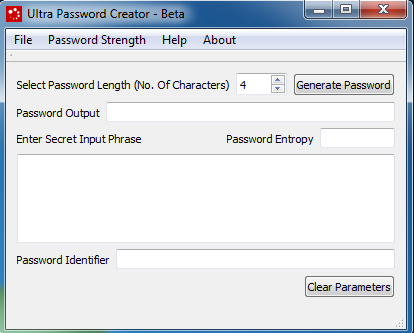 Ultra Password Creator