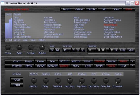 Ultrawave Guitar Multi Fx