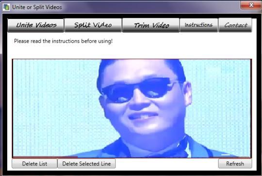 Unite or Split Video