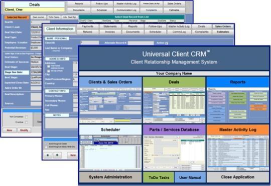 Universal Client CRM