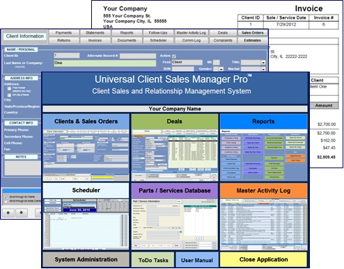 Universal Client Sales Manager Pro