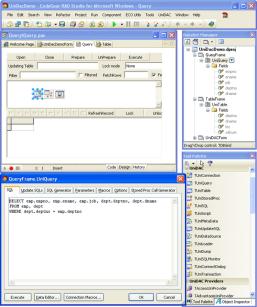 Universal Data Access Components Unicode for Delphi, C++Builder, and RAD Studio 2007